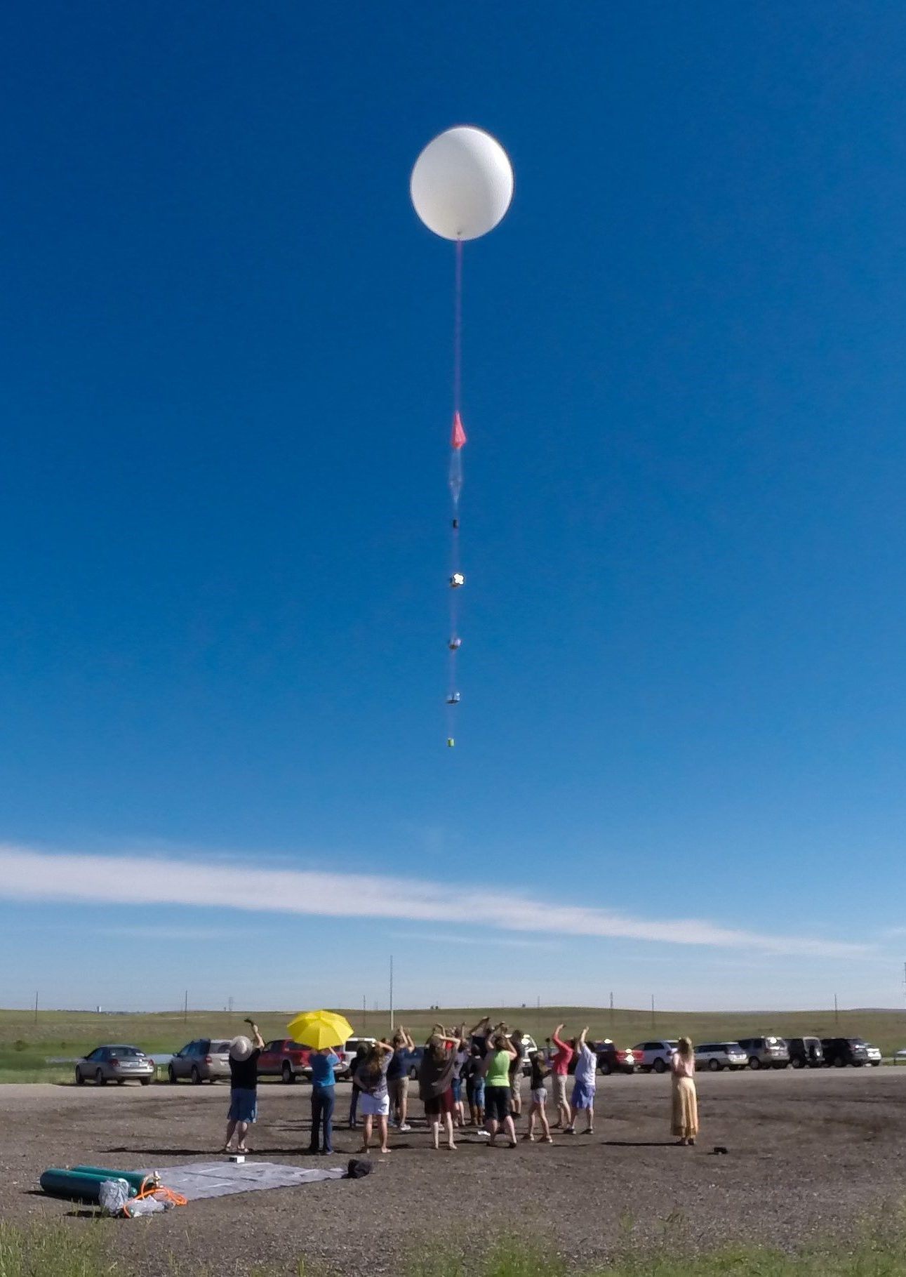 Launching a Balloon