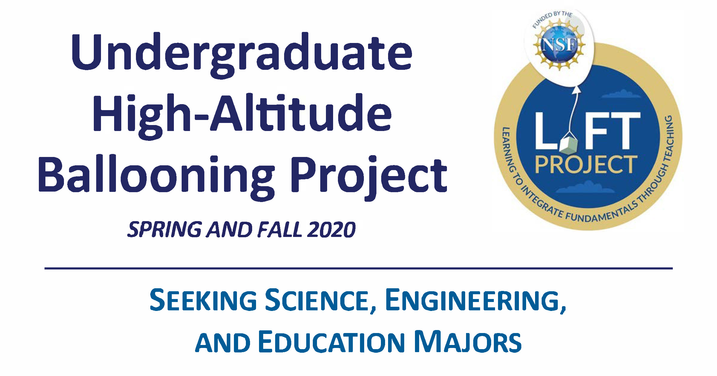 2020 Wyoming State Science Fair Logo Contest.The Lift Project Wyoming Nasa Space Grant