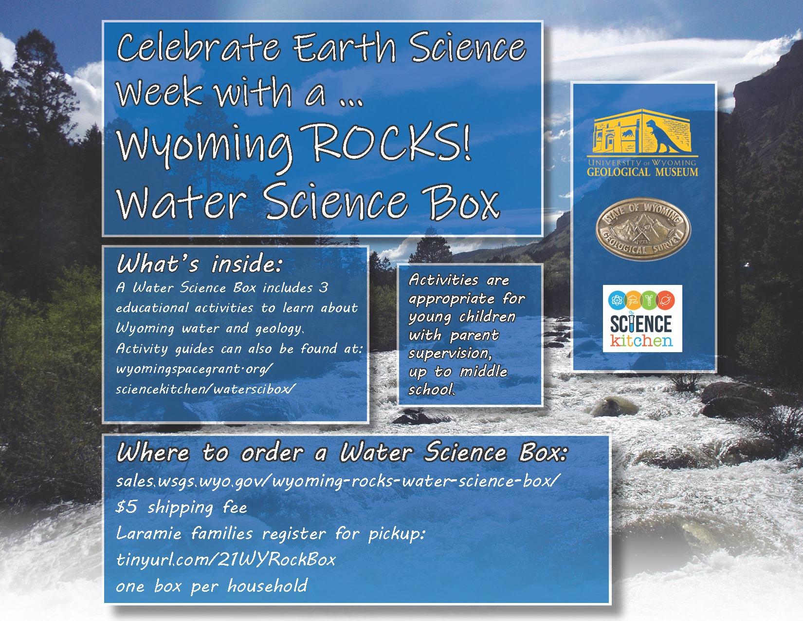 Earth Science Week Flyer
